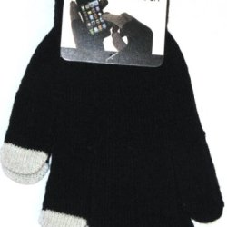 Texting Glove For All Touch Screen Devices - Iphone, Ipad, Samsung - Black