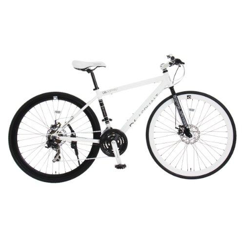 DOPPELGANGER(ドッペルギャンガー) D6 ASPHALT 700x28C クロスバイク【軽量アルミフレーム】シマノ 21段変速 リジッドフォーク【前後ディスクブレーキ】LEDライト/鍵/スタンド付 Liberoシリーズ