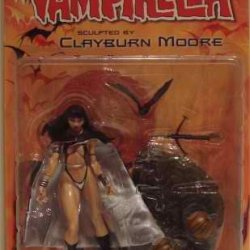 "Vampirella ""Black Cape Variant Limited Edition"" Action Figure - Harvest Moon - Moore Collectibles"
