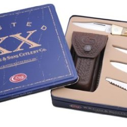 Case Cutlery 70050 Xx-Changer Gift Set Amber Bone
