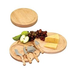 Picnic Sport Circular Cheese Entertaining Set