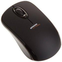 Amazonbasics Wireless Mouse With Nano Receiver (Black)