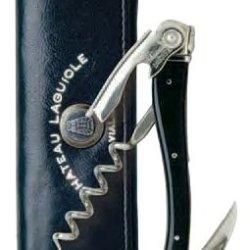 Chateau Laguiole Waiter'S Corkscrew, Black Horn