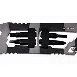 Verany Outdoor Survival Shark/Piranha Multi-Purpose Pocket Tool (Shark)
