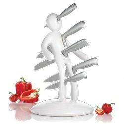 Raffaele Iannello The Ex Kitchen White Knife Set