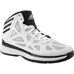 Adidas Crazy Shadow 2.0 Mens Basketball Shoe 8.5 White/Black