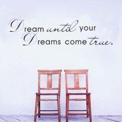 [Top-Me]- Discount:Dream English Quote/Vinyl Wall Decals :28*100Cm/40''*11''Removable Waterpoof Wall Sticker Tm8009