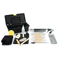 Universal Tool 34Potkit Washable/Reusable 34-Pc Complete Pottery Tool Craft Kit