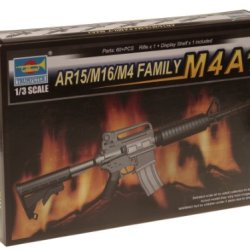 Trumpeter 1/3 Ar15/M16/M4 Family M4A1 Machine Gun