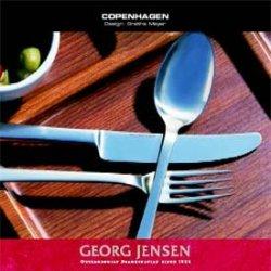 Georg Jensen Stainless Steel 3340062 Copenhagen Fish Knife
