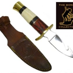 New Bone Collector Bone Handle Hunting Knife Bc797
