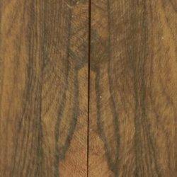 "Ziricote Stump Figured 2 Pc Knife/Razor Scale 1/4""X1 1/2""X5"" 601"