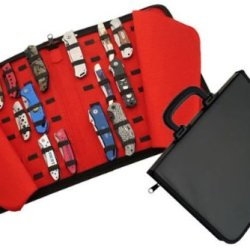 New Brief Case Style 42 Knife Case Holds 42 Knives