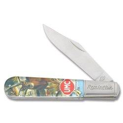 Remington Knives 17607 Vintage Series - Umc Whitetail Magic Large Barlow Knife With Clear Acrylic Handles