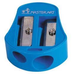 Pen Sharpener 2 Hole Pencil No.6 Masterart