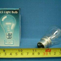 Bell 5 X 60W Gls Clear Bulb ( Bc )Bayonet Cap Bulbs - [Eu Specification: 220-240V]