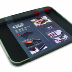 Joseph Joseph Trio Carve Chopping Board With Magnetic Knife And Fork Carving Set
