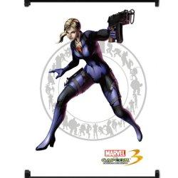 Marvel Vs Capcom 3 Jill Valentine Game Fabric Wall Scroll Poster (16X21) Inches