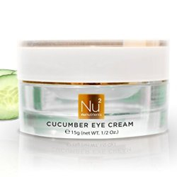 Nunutrients - Cucumber Eye Cream - Soothing Eye Cream For Dark Circles, Wrinkles, And Firmness