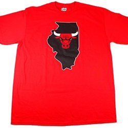 Derrick Rose Chicago Bulls #1 Nba Men'S Record Holder Player T-Shirt Red (Large)