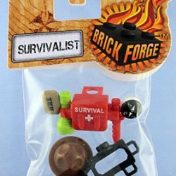 Brickforge - Survivalist Accessories (Minifig Not Included)