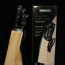 8 Piece Block Knife Set