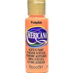 Decoart Americana Acrylic Paints Pumpkin 2 Oz. [Pack Of 8 ]