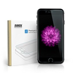 "Anker® Premium Tempered Glass Screen Protector For Iphone 6 Plus (5.5 Inch) ""Xtreme Scratch Terminator"""