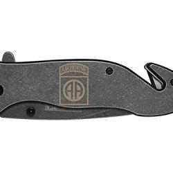 82Nd Airborne Engraved Tac-Force Tf-811Sb Speedster Model Folding Pocket Knife By Ndz Performance