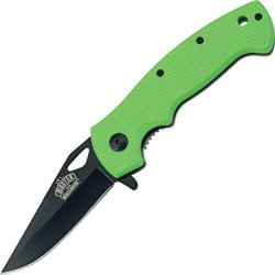 "Master Usa Mu-A003Gn Spring Assisted Knife 4.5"" Closed"