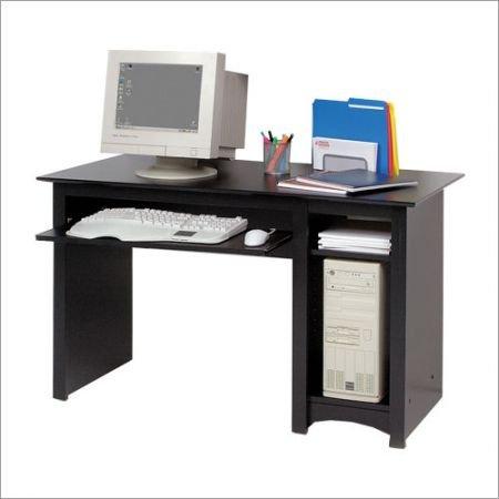 Picture of Comfortable Sonoma Black Computer Desk - Prepac BDD-2948 (B003WR7PCO) (Computer Desks)
