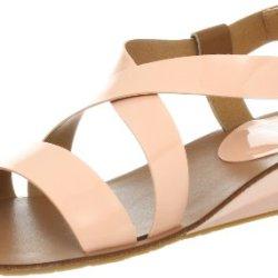 Kelsi Dagger Women'S Ginette Sandal,Peach,8.5 M Us