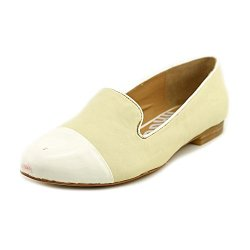Kelsi Dagger Freud Womens Size 9.5 Nude Leather Loafers Shoes