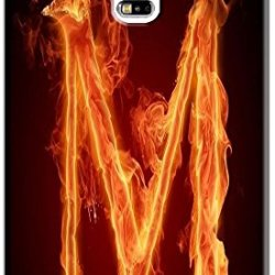 Phone Accessories Lovely 26 Fire Letter Character Cute Design Special For Samsung Galaxy S5 I9600 No.13