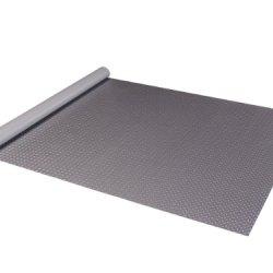 Diamond Deck 81059 5-Feet By 9-Feet Golf Cart Mat, Metallic Graphite