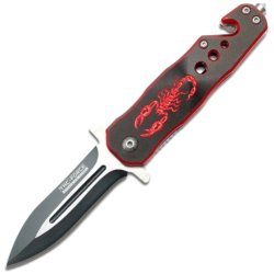 Tac Force Tf-664Br-S Assisted Opening Folding Knife 4-Inch Closed