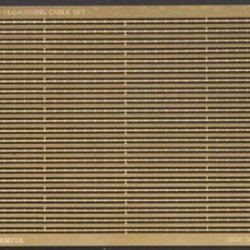 Degaussing Cable Set Photo-Etched Detail Set For Ships 1/350 Tamiya