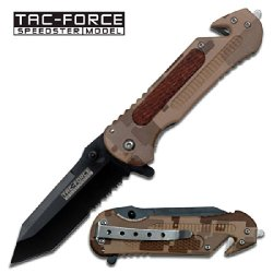 Tf-667Tdm Desert Kctoqoml Camo Rescue Spring Assisted Knife Tanto Blade W/ Sxouoxrui Wood Hndl Ghkdiwiy 2334Rtyui Gbh Black Half Serrated Tanto Blade With Wood Overlay Handle. Window Breaker On Xlhfc9Ywgw End Of Handle.Sharpened High Carbon Steel Tanto Bl