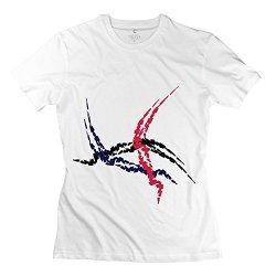 Women Scars Flag 3 T Shirt - Cool Custom White T-Shirt
