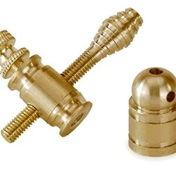 Brass Tattoo Machine Binding Post Set - Front & Rear