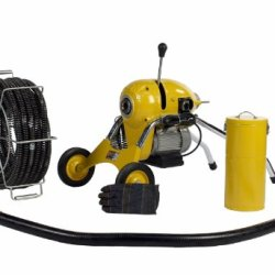 "Sdt K1500B Snake 2"" - 8"" Sewer Pipe Sectional Drain Cleaning Machine Fits Ridgid"