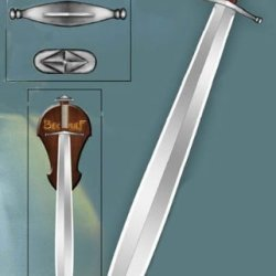 Sale Fantasy Beowulf Sword & Plaque Tr0127