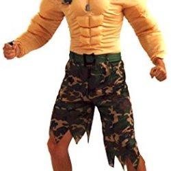 Forum Novelties Men'S Jungle Commando Costume, Camouflage, One Size