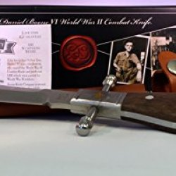 Daniel Boone Vi World War Ii Combat Knife With Sheath And Certificate Of Authenticity