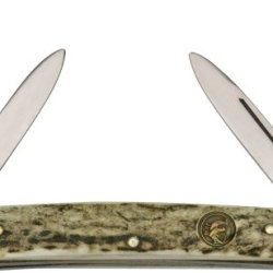 Hen & Rooster Knives 124Ds Congress Pocket Knife With Genuine Deer Stag Handles