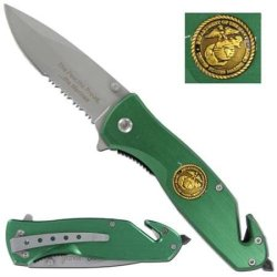 Marine Lone Wolf Spring Assisted Knife