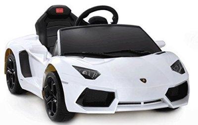 Lamborghini-Aventador-6V-Ride-On-Kids-Battery-Powered-Wheels-Car-RC-Remote