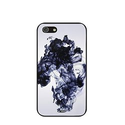 Dh-Hoping (Tm) Cell Phone Case For Personalizatied Custom Picture Iphone 5C High Impackt Combo Soft Silicon Rubber Hybrid Hard Pc & Metal Aluminum Protective Case With Customizatied Paint Retro Style Splash-Ink Luxurious Pattern (Dye-15)