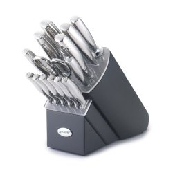 Anolon Advanced Stainless Steel 15-Piece Knife Set With Block