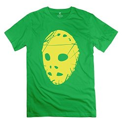 Yongth Men'S Mask Horror 100% Cotton T-Shirt - Emotion T Shirts Forestgreen Us Size M